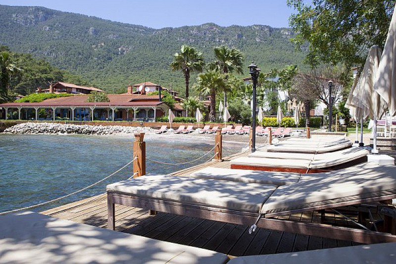 Baga boutique hotel akyaka g kova g isches meer t rkei for Boutique hotel am strand